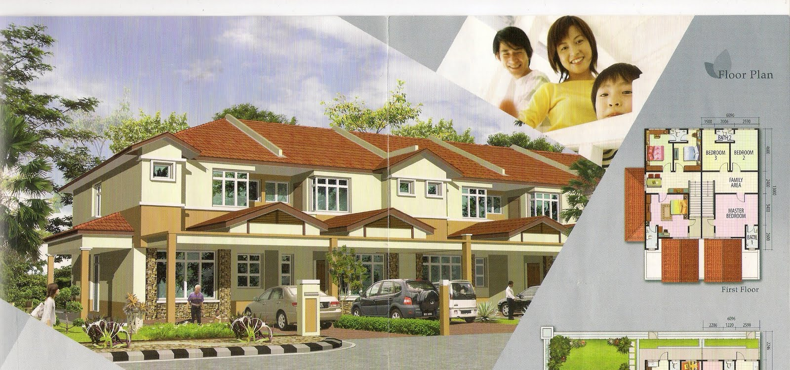 Bandar tasek mutiara phase 8e series double storey for Terrace house new season