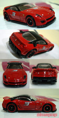 Lamborghini Murcielago on Hot Wheels Speed Machines Ferrari 599xx
