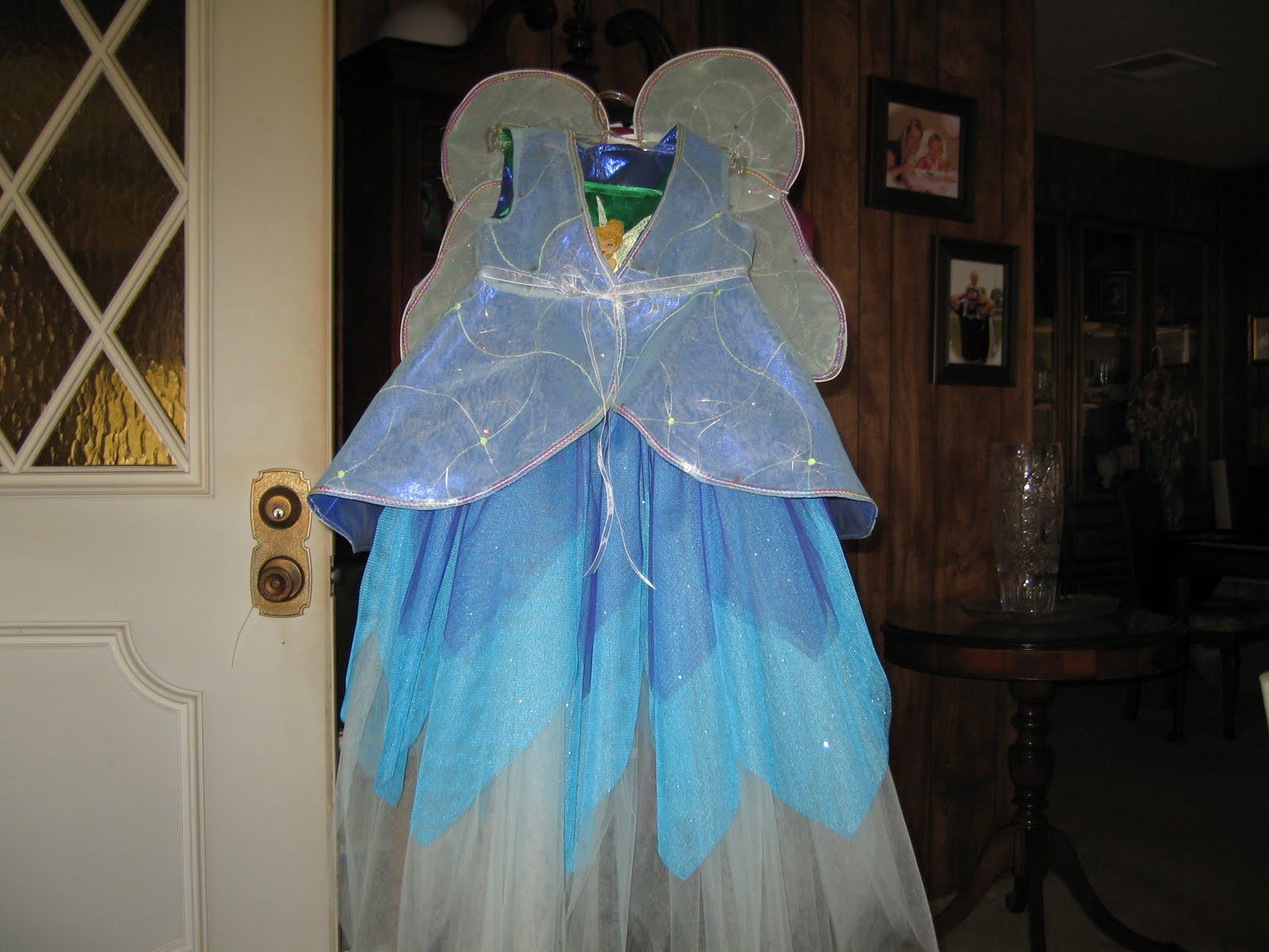 Marian\'s Creations: Katie\'s Tinkerbell Costume