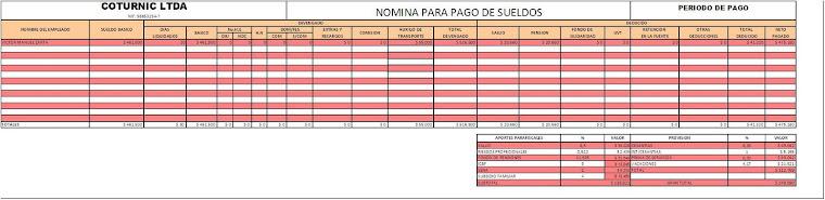 NoMiNa De CoTuRnIc
