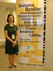 DIVULGAÇÃO - SISTEMA BRAILLE - Montevidéu 2010