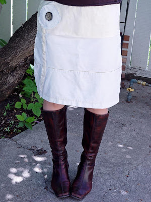 Free Sewing Pattern Make a Broomstick Skirt from Jeans - Plus Free