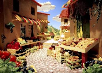 Tuscan Market - Carl Warner
