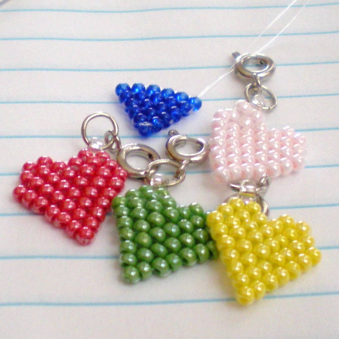seed bead crafts pattern
