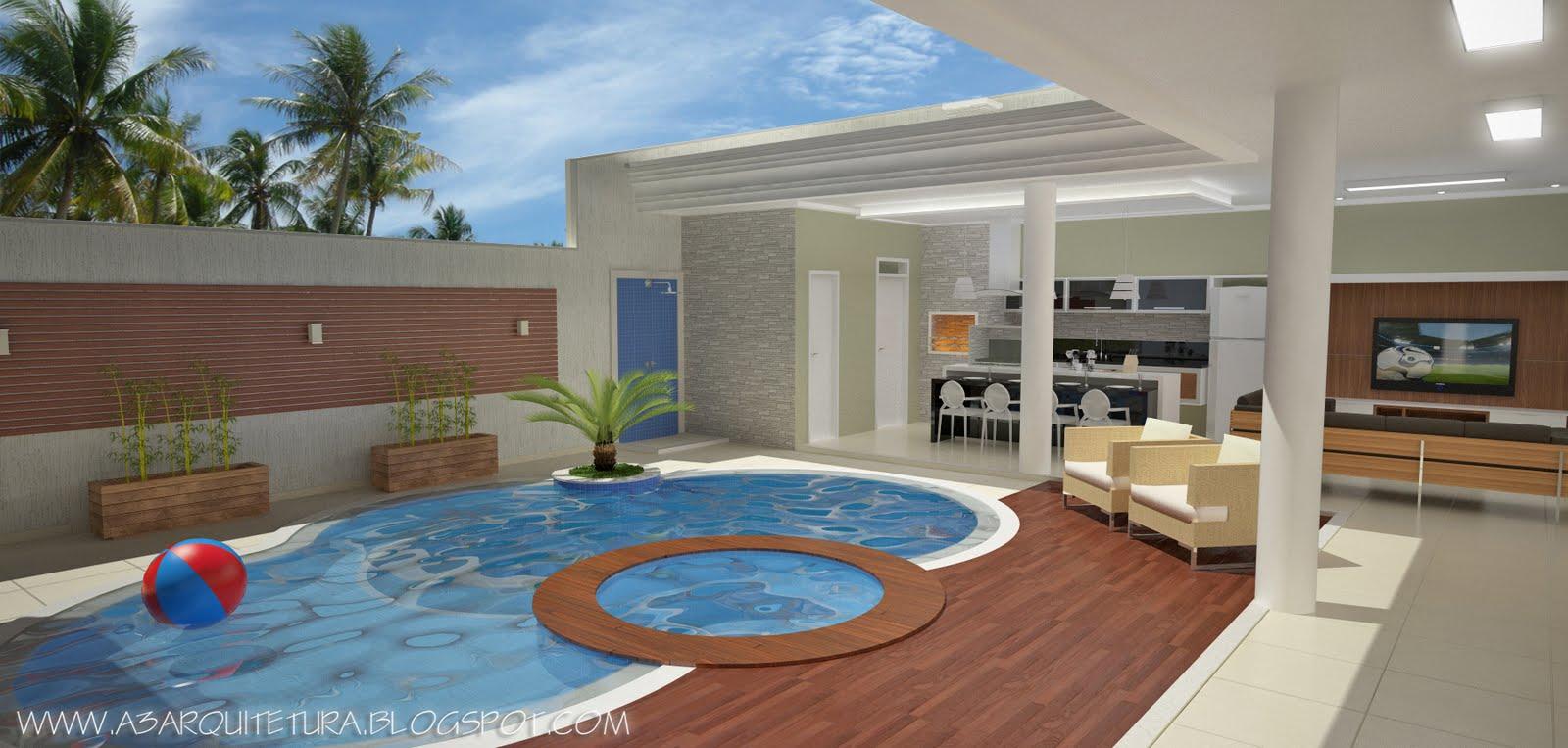 Arquitetura E Visualiza O Digital Rea De Lazer Cond Interlagos