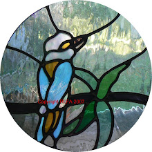 Kingfisher Leadlight