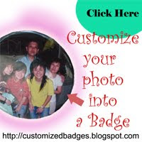 Personalized your photo into a badge!