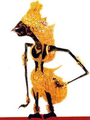 Gambar Arjuna Wayang Kulit