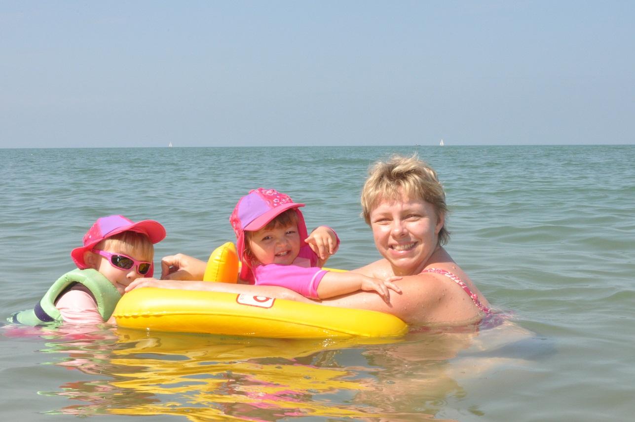 knula mig tjejer på stranden