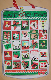 Danielle's Cookie Sheet Calendar 2009
