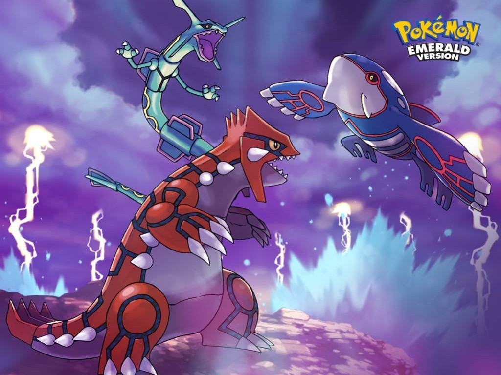 About pokemon the story of rayquaza kyogre and groudon - Pictures of groudon and kyogre ...