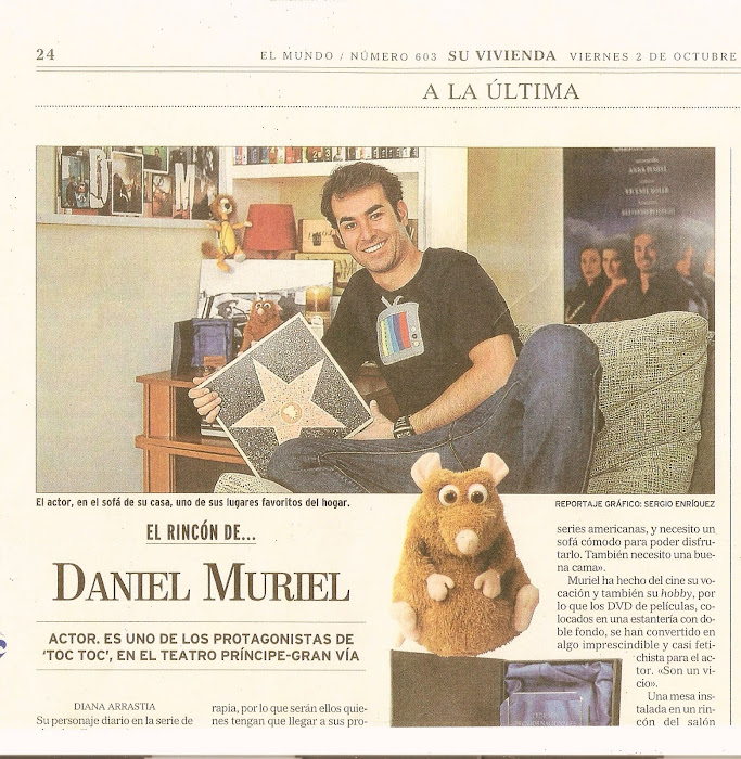 """una de mis camisetas en el periódico """"El Mundo"""""""