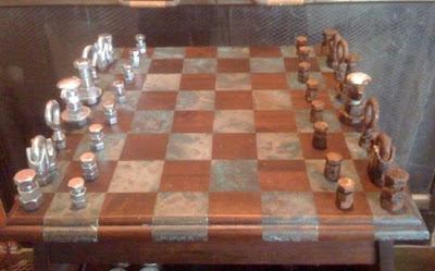 Amazing Chess sets With Recycled Materials