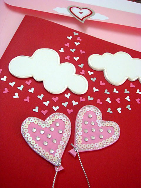 Lin Handmade Greeting Cards: Love is in the air! ;)