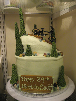 Sweetest Endeavors: Mountain Bike Cake
