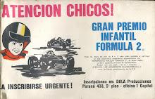 GRAN PREMIO INFANTIL DE FORMULA 2