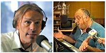 """Pedro Domingo """"Pelusa"""" Suero y Marcelo Zlotogwaizda en Radio Mitre."""