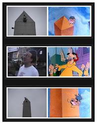 Testigo en el obelisco