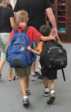 Jonah and Isaac's First Day of School