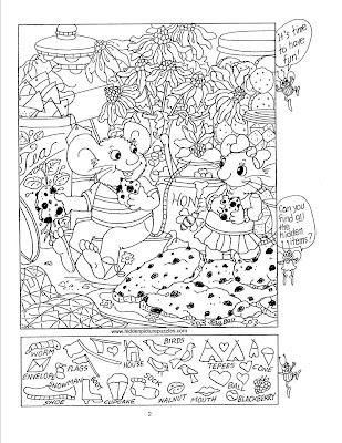 Hidden Picture Puzzles by Liz