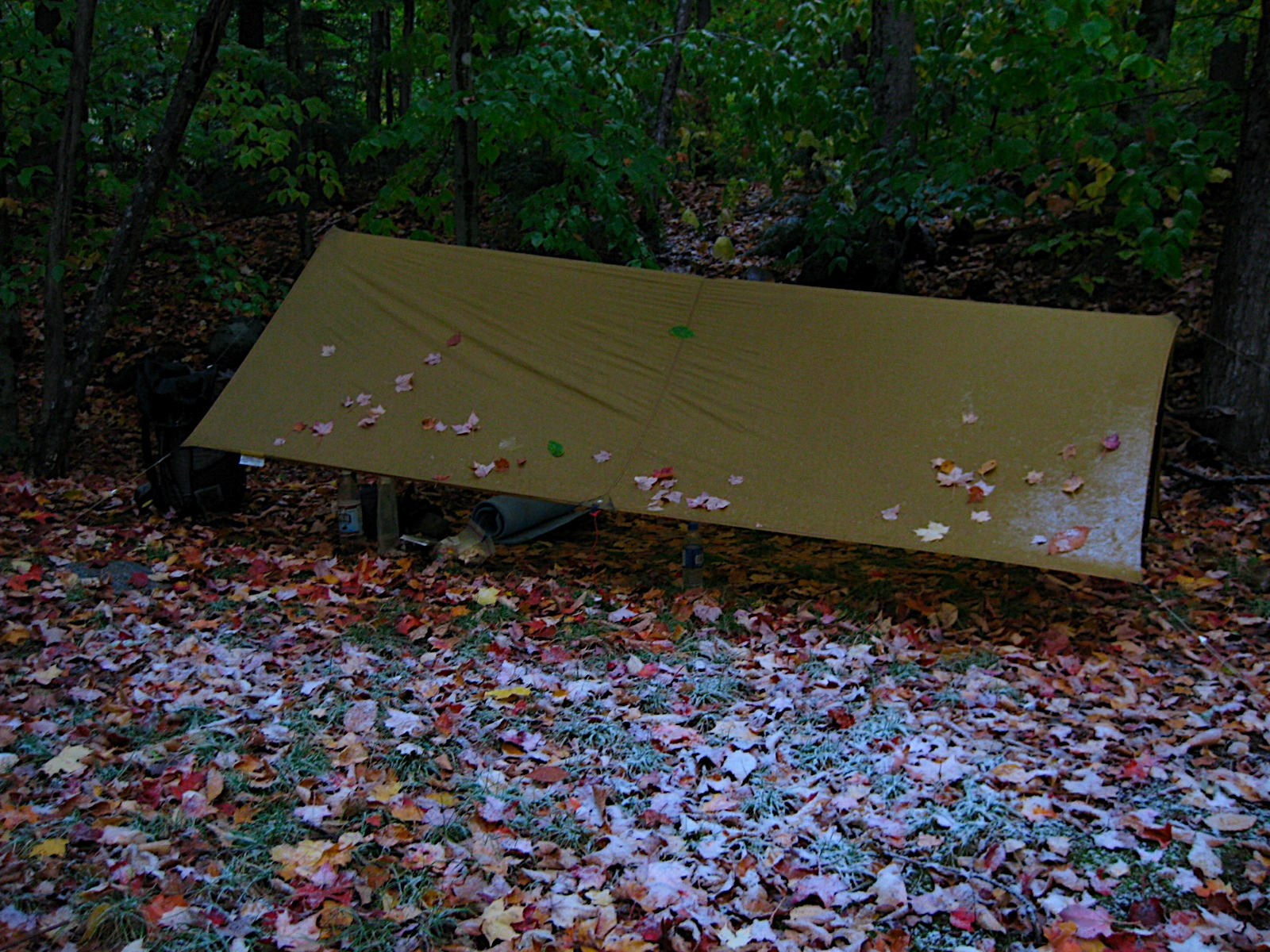 Sleeping under a tarp instead of in a tent takes some getting used to. Common worries are bugs wind varmints and ground water. & Guthooku0027s Gear Guide: A-Frame tarps   Guthook Hikes!