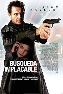 Búsqueda Implacable 2008 poster