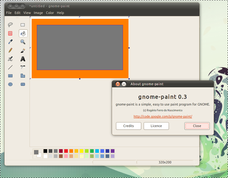 Gnome paint is microsoft paint clone for linux omg ubuntu Paint for linux