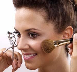 Uma maquiagem
