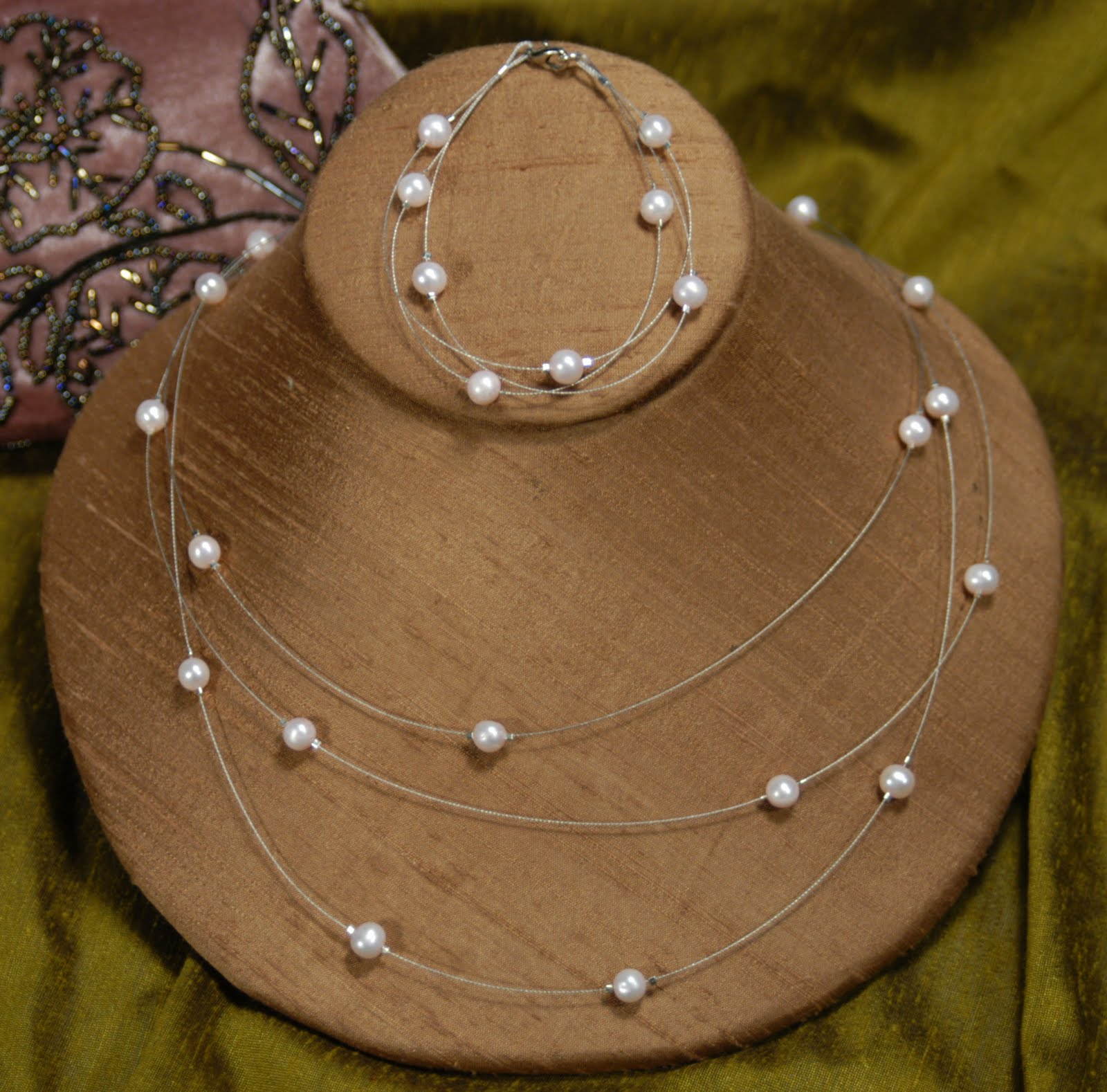 cathie filian make it for floating pearl necklace