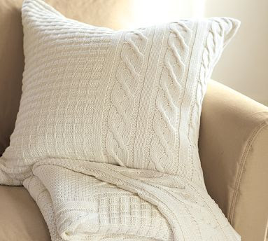 Home is Where My Story Begins: Pottery Barn Knock Off Sweater Pillow