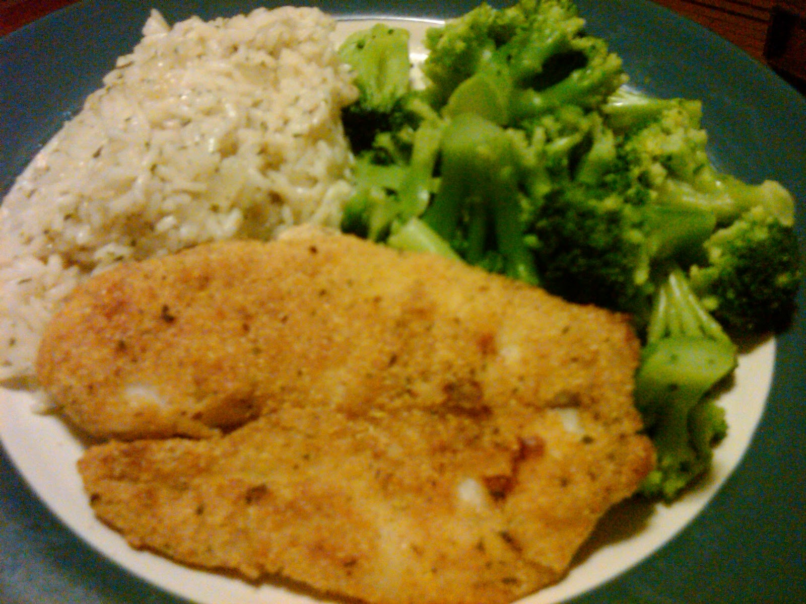 Legally delicious oven fried tilapia for Fried tilapia fish