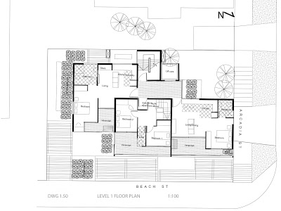 Apartment Floor Plan Cad Block