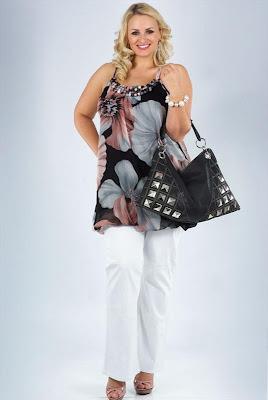 Летняя одежда для полных женщин фото