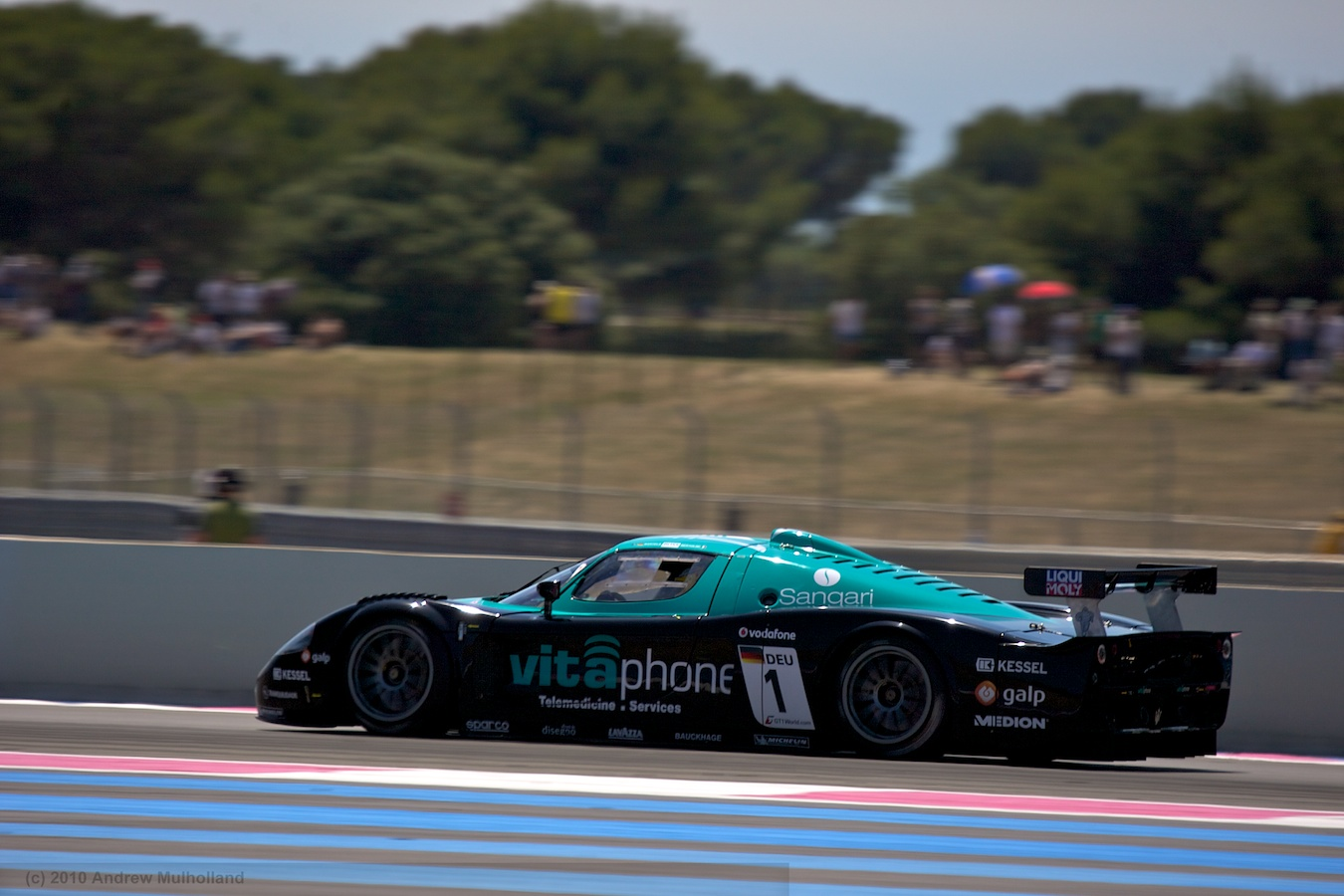 The Vitaphone Maserati MC12