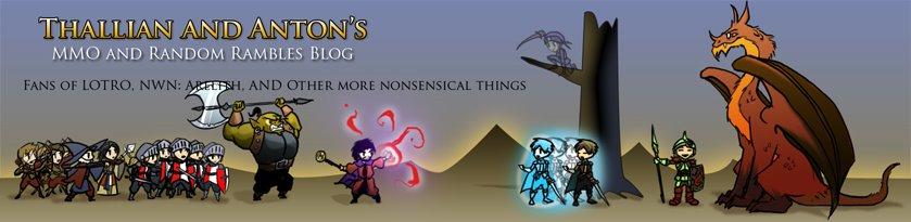 Thallian and Anton's MMO and Random Rambles Blog