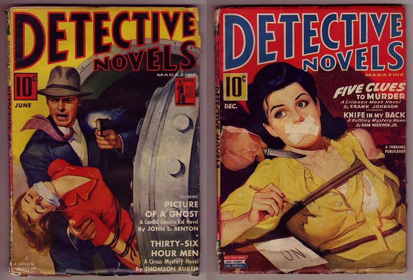 from the 1940 s pulp magazine detective novel s what great artwork on