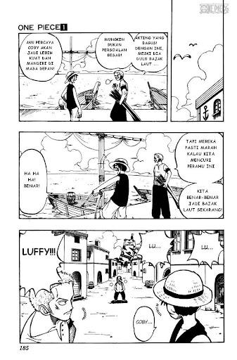 Baca Manga, Baca Komik, One Piece Chapter 7, One Piece 7 Bahasa Indonesia, One Piece 7 Online
