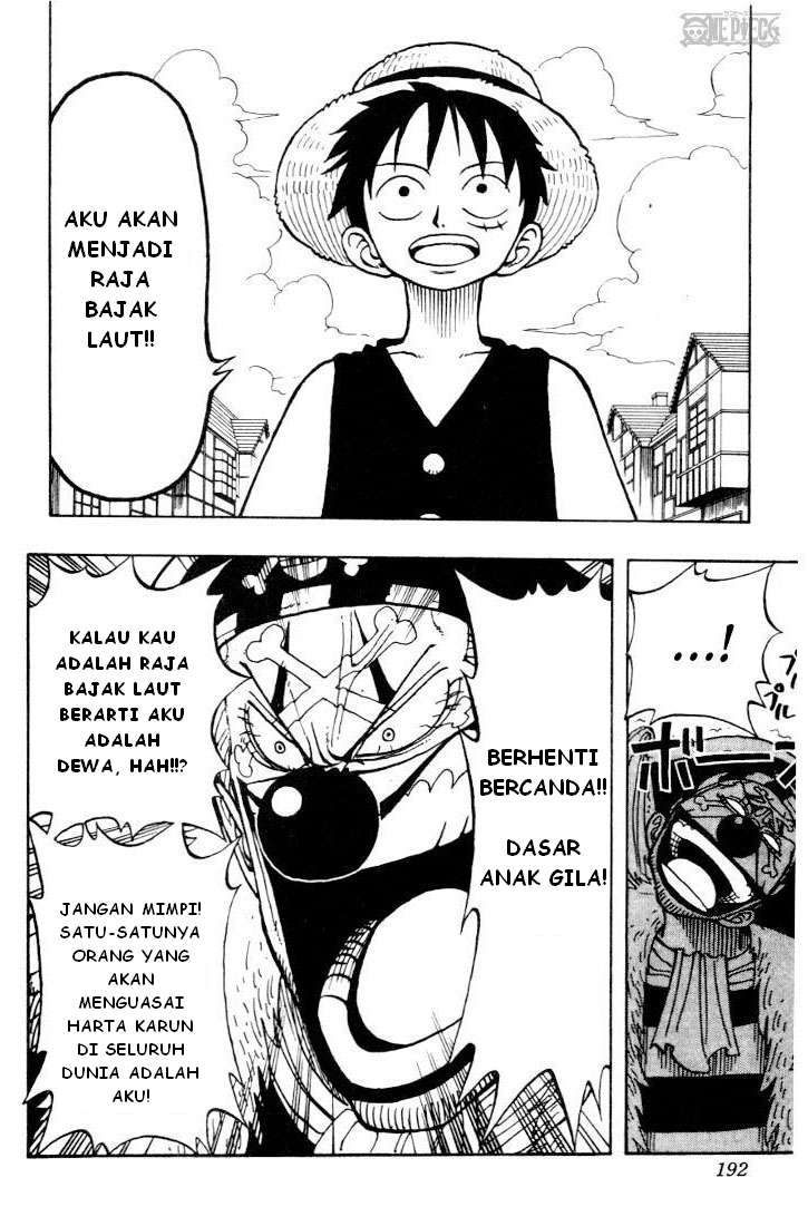 Baca Manga, Baca Komik, One Piece Chapter 17, One Piece 17 Bahasa Indonesia, One Piece 17 Online