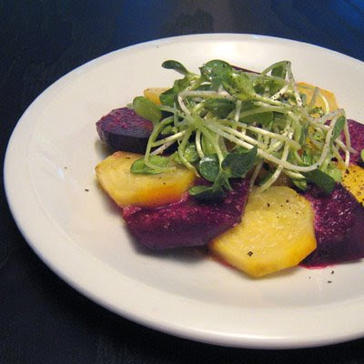 lisa is cooking: Roasted Beets with Horseradish Vinaigrette