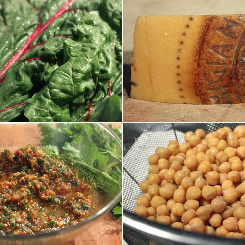 lisa is cooking: Chickpeas and Swiss Chard in Parmesan and ...