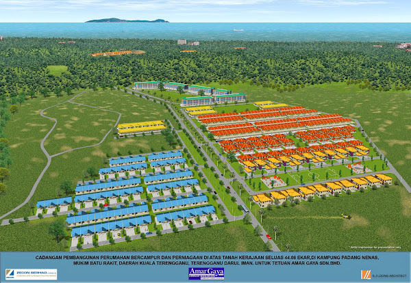 Housing project, Kuala Terengganu