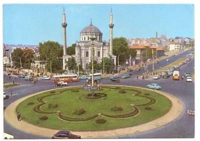 eski istanbul - aksaray meydanı