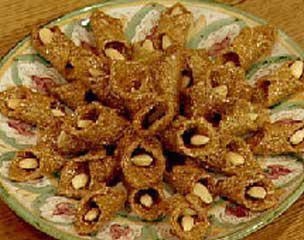 الحلويات المغربية الرمضابية بالعسل