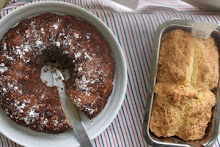 Coffee cake & soda bread