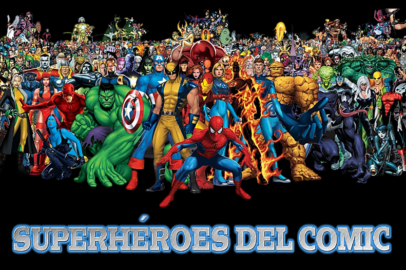 SUPERHÉROES DEL COMIC