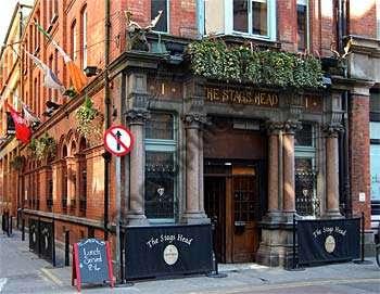 Achado em Dublin: Stag's head