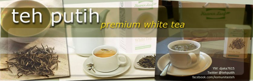 Teh Putih Heaven Leaf Indonesia (Premium White Tea)