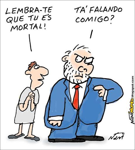 Lula + Imperador Júlio Cesar + Taxi Driver