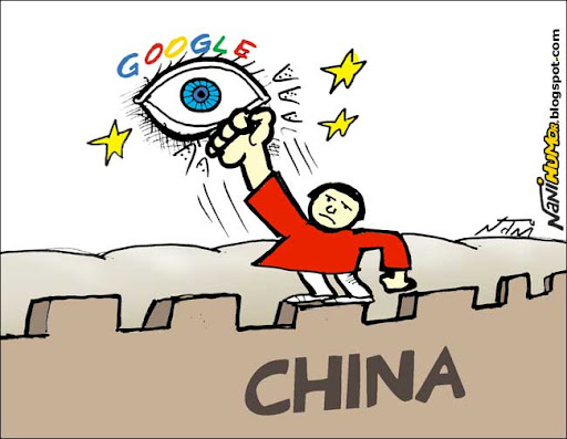 Google volta a ser censurado na China