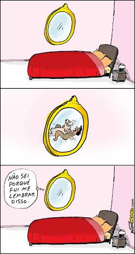 O Humor das Coisas: espelho